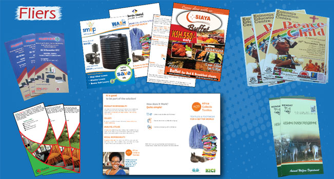 Fliers printing in Kenya