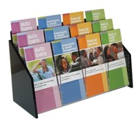 Brochure Holders, Literature Holders, Literature Racks, Menu Holders